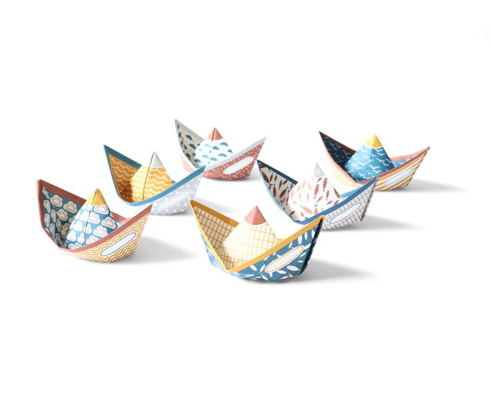 wunschpapierboote - juriane matter