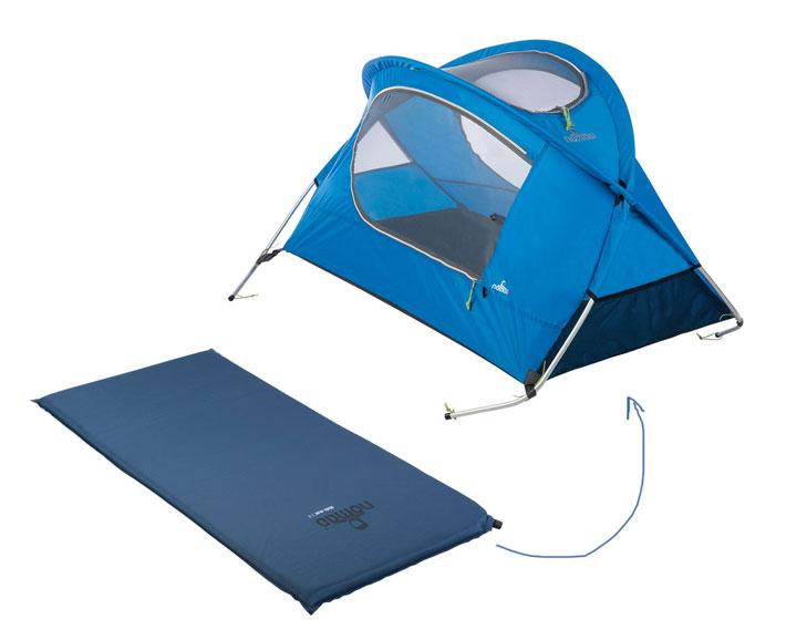 kinderreisebett mit matte - nomad