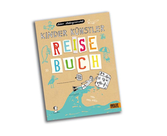 kinder künstler - reisebuch
