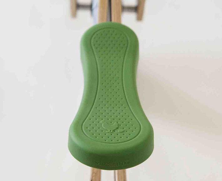 recycled edition - sitzbezug für  laufrad wishbone bike