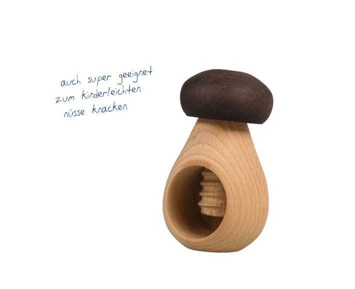 holzpilz - kastanienhalter