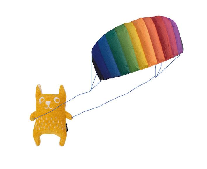 lenkmatte - regenbogenfarben