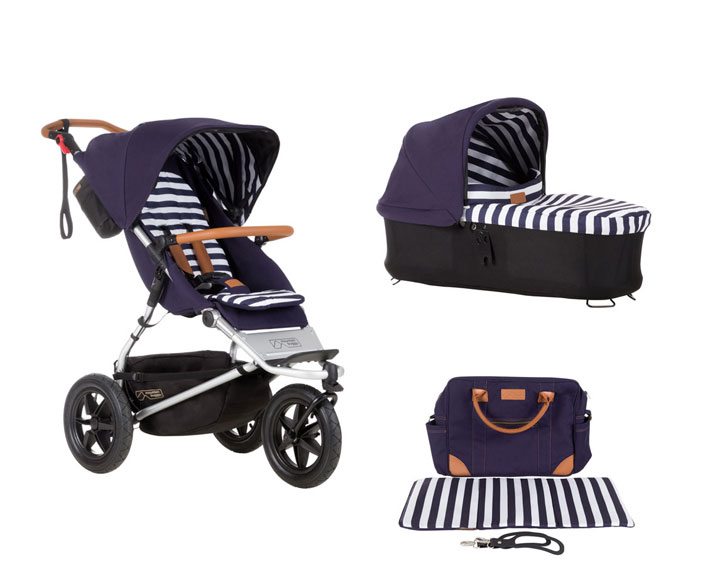 urban jungle luxury set nautical und pepita - mountainbuggy