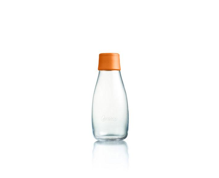 trinkflasche 0 3l orange retap bei rasselfisch kaufen. Black Bedroom Furniture Sets. Home Design Ideas