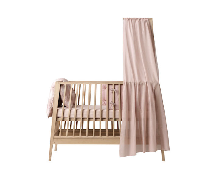 linea babybett soft pink himmel bei rasselfisch kaufen. Black Bedroom Furniture Sets. Home Design Ideas