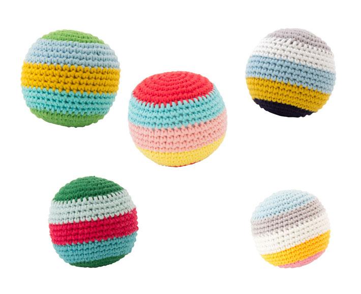 häkelball - mit biep 6cm