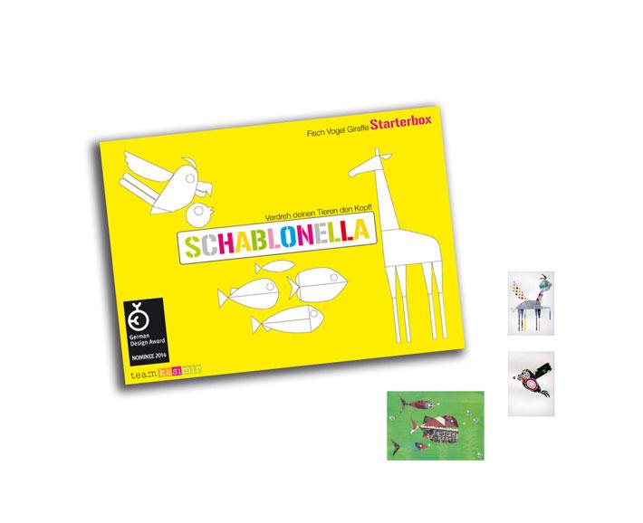 schablonella - starterbox