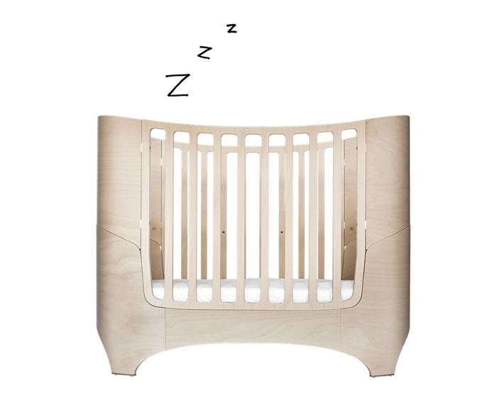 leander babybett 0-3 - mit comfort matratze