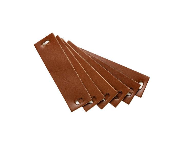 linea kommode - ledergriff 6-er pack