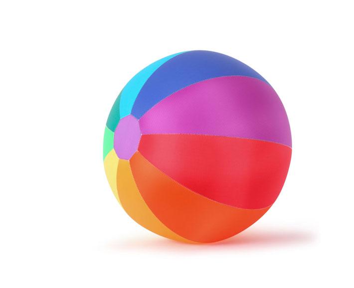 riesen taschenball - luftballonball 70cm