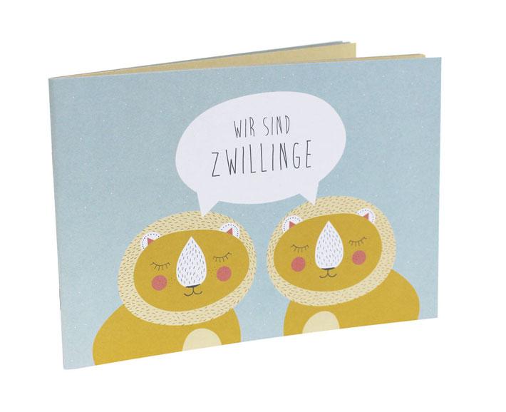 geschwisterbuch - wir sind zwillinge