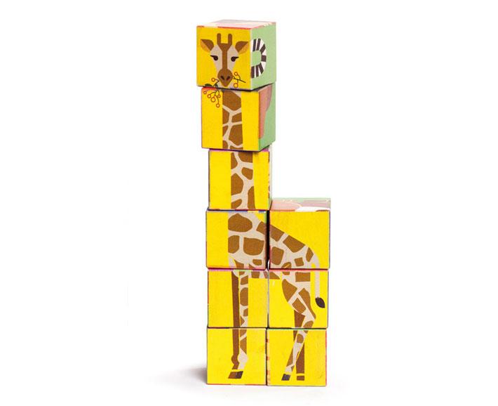 zoo cubes - erstes legespiel