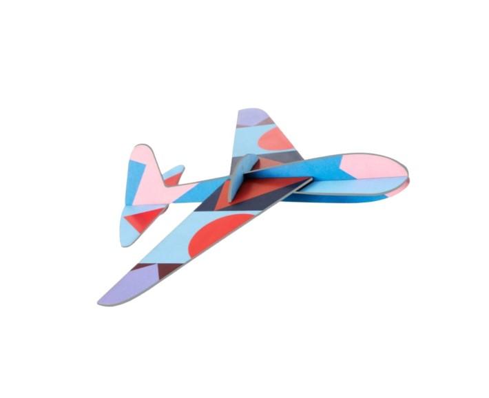 pappflugzeug - hubschrauber
