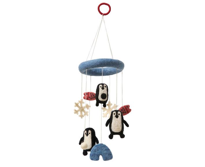 filzmobile pinguin - klippan
