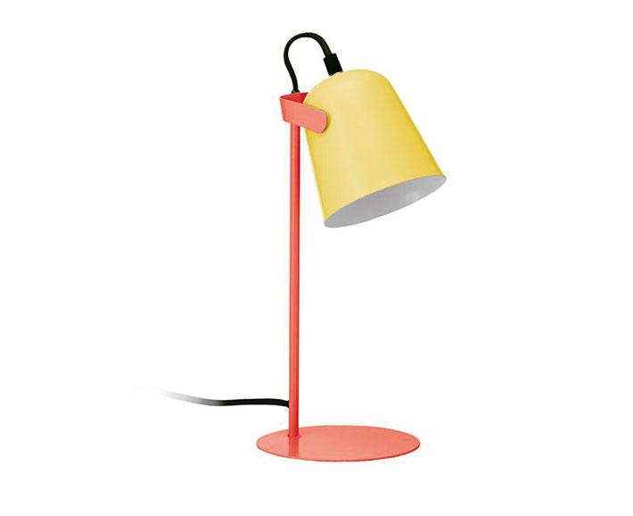 Lampe Chloe Gelb Orange Schwarz Furs Kinderzimmer Bei