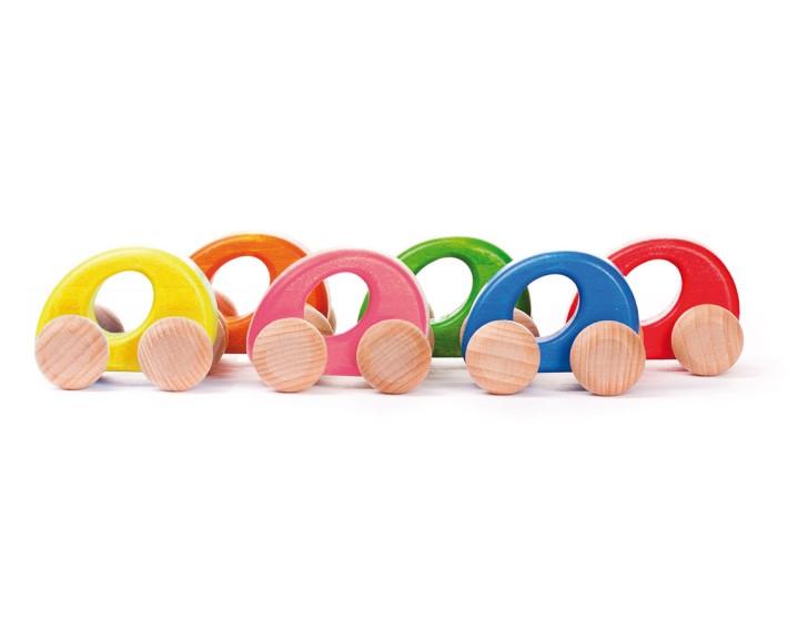 mini auto - holzspielzeug