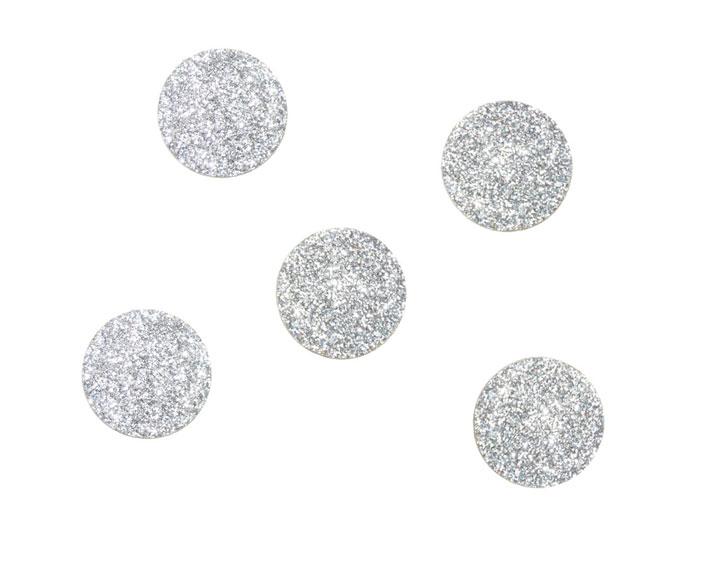 glitzersticker 25 mm - kleben und bügeln