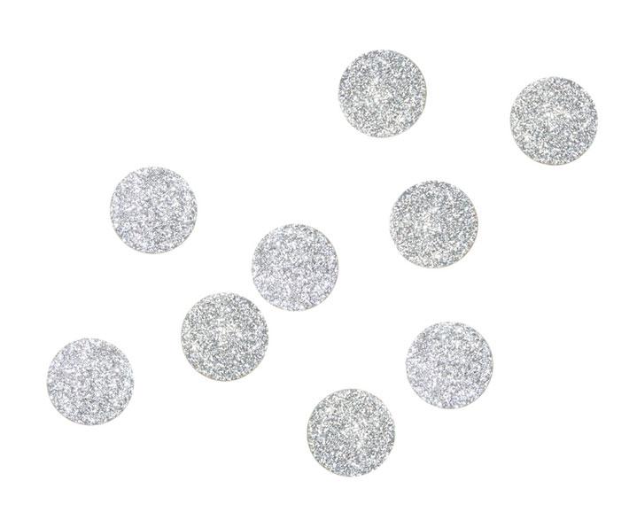 glitzersticker 40 mm - kleben und bügeln