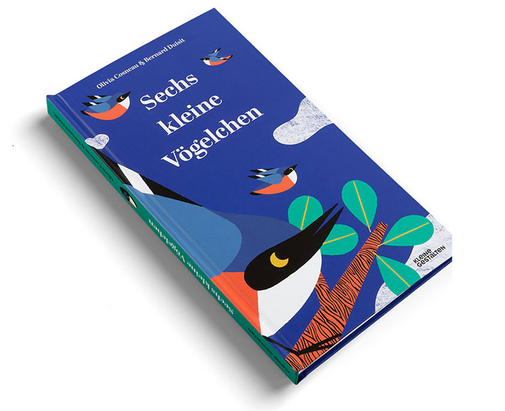 6 kleine Vögelchen - Pop-up Buch