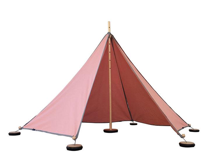 Spielzelt für Draußen und Drinnen - Abel1 rosa