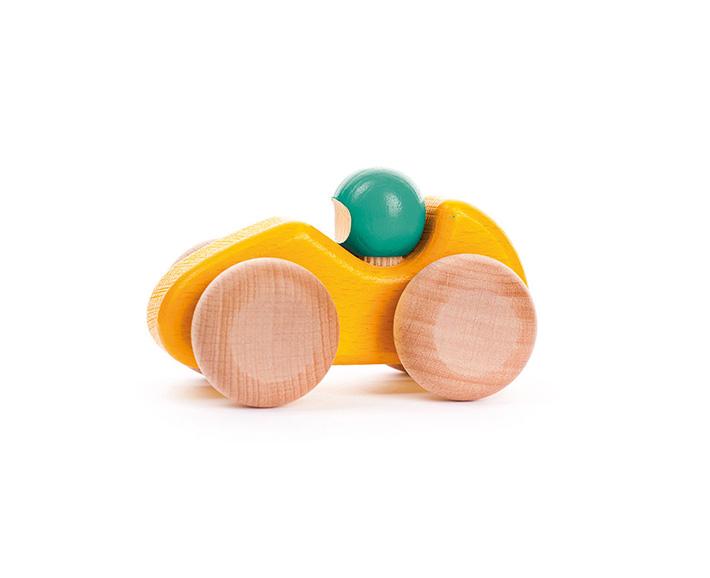 kleiner rennwagen - aus Holz