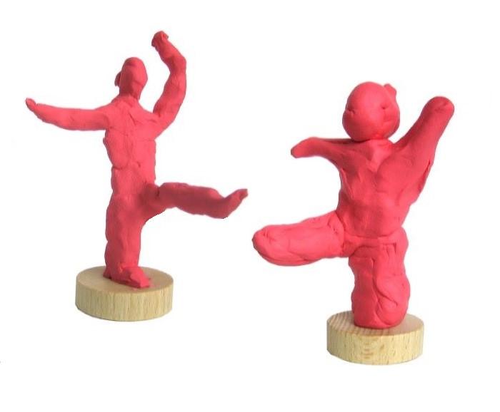 skulptur kleine tänzerin - ab 3 Jahre