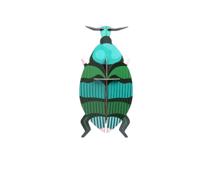 käfer aus pappe - zum stecken