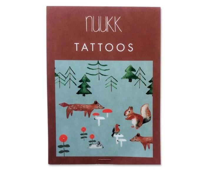 bio tattoo - waldtiere