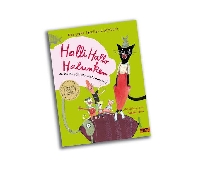 halli hallo halunken - liederbuch
