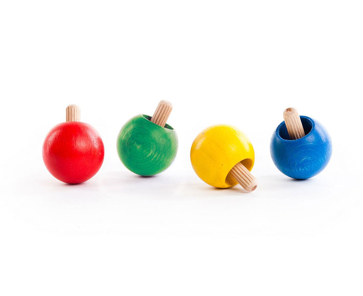 wendekreisel - holzspielzeug