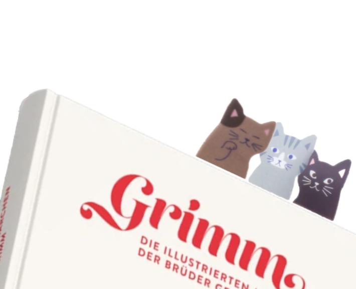 selbsthaftende lesezeichen sticker - aus japan