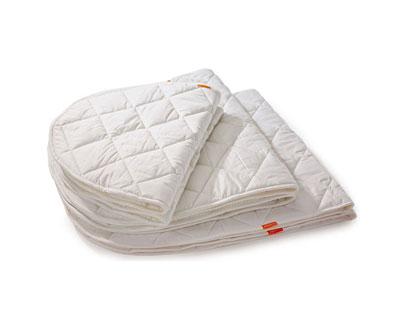 leander babybett - matratzenschoner