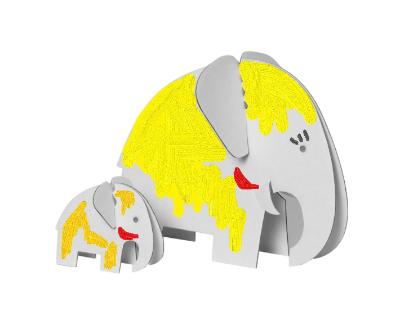 bastelset elefantenfamilie