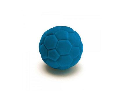 kautschukball - beflockt