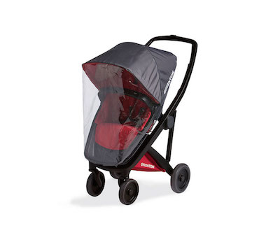 greentom upp - regenschutz zu babywanne