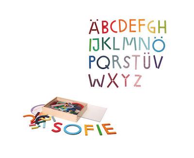 legespiel alphabet - grimms
