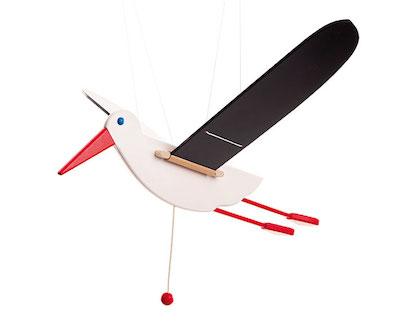 fliegender storch -