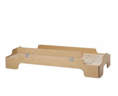 stapelliege 140 x 70 - rausfallschutz 139,5cm