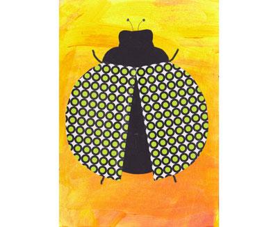 Geburtstagsfest Bastelei - postkartenset schablonella