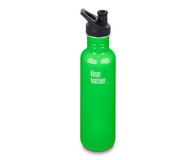 classic kanteen flasche - edelstahl, sport cap