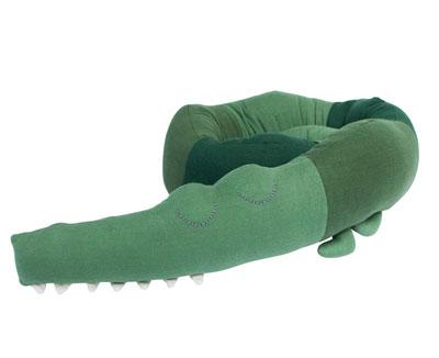 häkelkrokodil - sleepy croc
