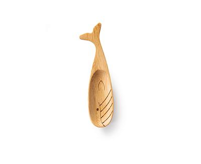 bambuslöffel - 3 verschiedene designs