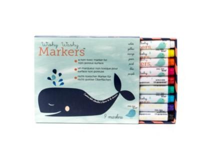 Wishy washy Marker - abwischbare Kreidestifte