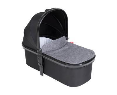 phil&teds snug babywanne - carrycot mit winddecke