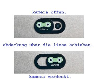 kamera und webcam cover
