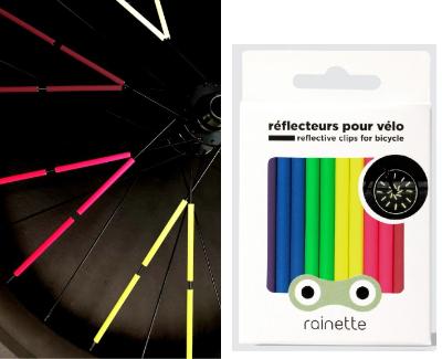Reflektoren für Fahrradspeichen - 360 Grad Sichtbarkeit