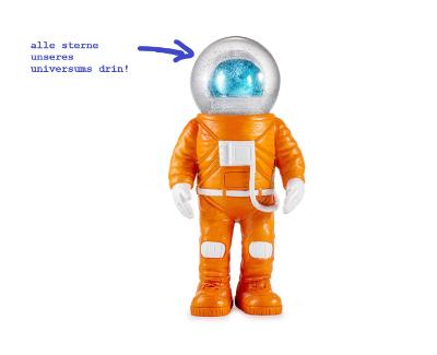 schneekugel astronaut - marsianer