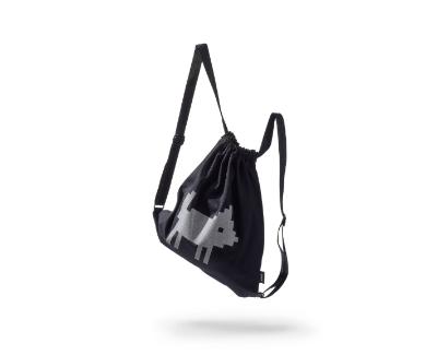 reflektierender Rucksack und Sportbeutel - klein 36x40