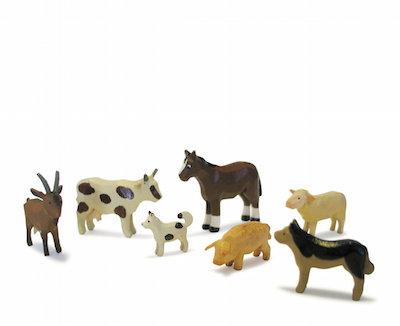 bauernhoftierfamilie - reifentiere