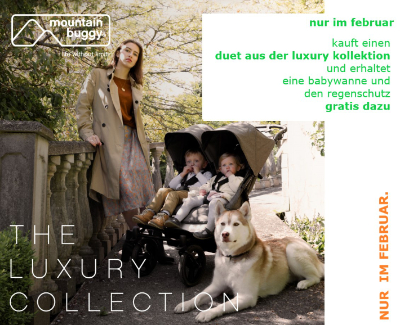 Luxury collection herringbone - duet v3 buggy